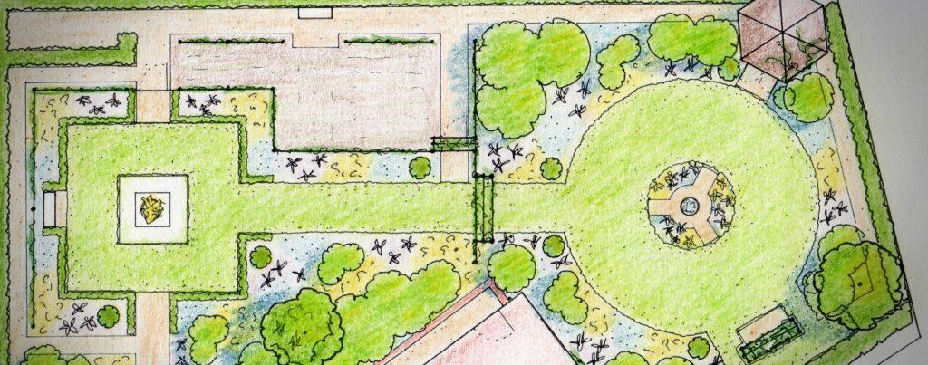 Garden Design Drawings York