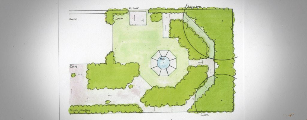 Garden Design Drawings York