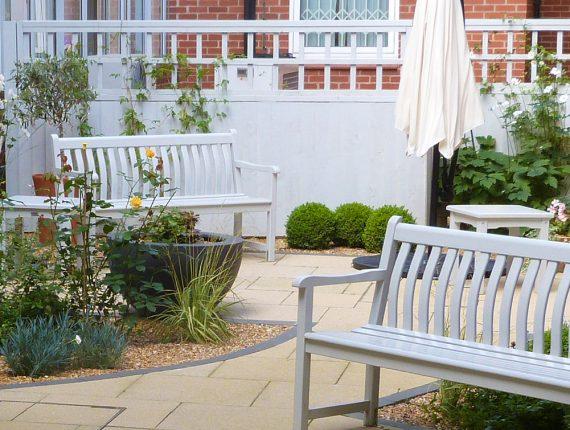 York Hospital Garden Design